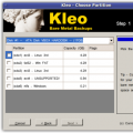 Kleo Choose Partition
